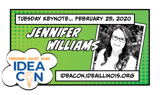 IDEAcon Tuesday Keynote Speaker Jennifer Williams