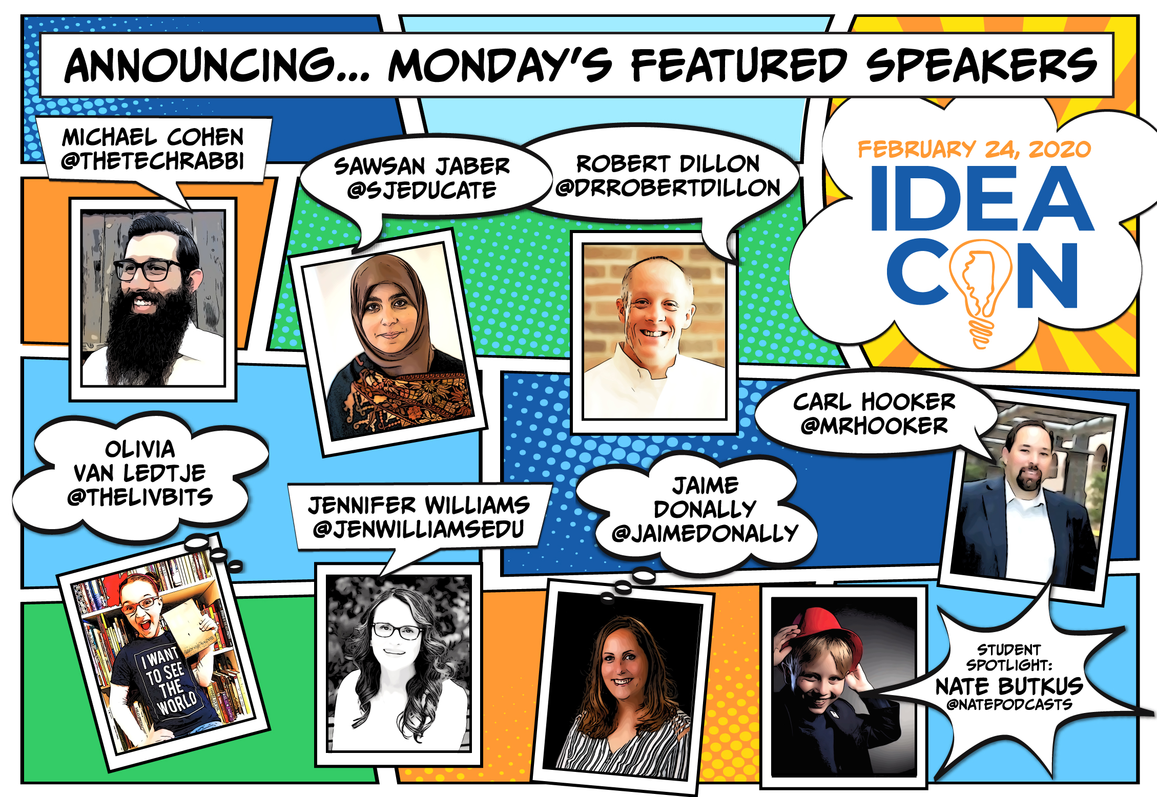 Monday Featured Speakers