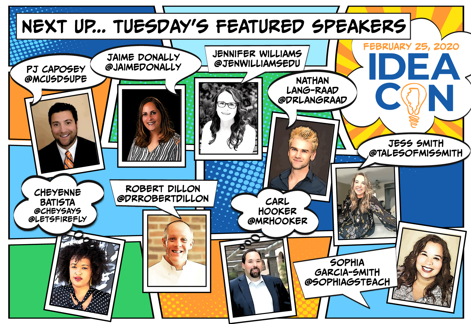 Tuesday Featured Speakers