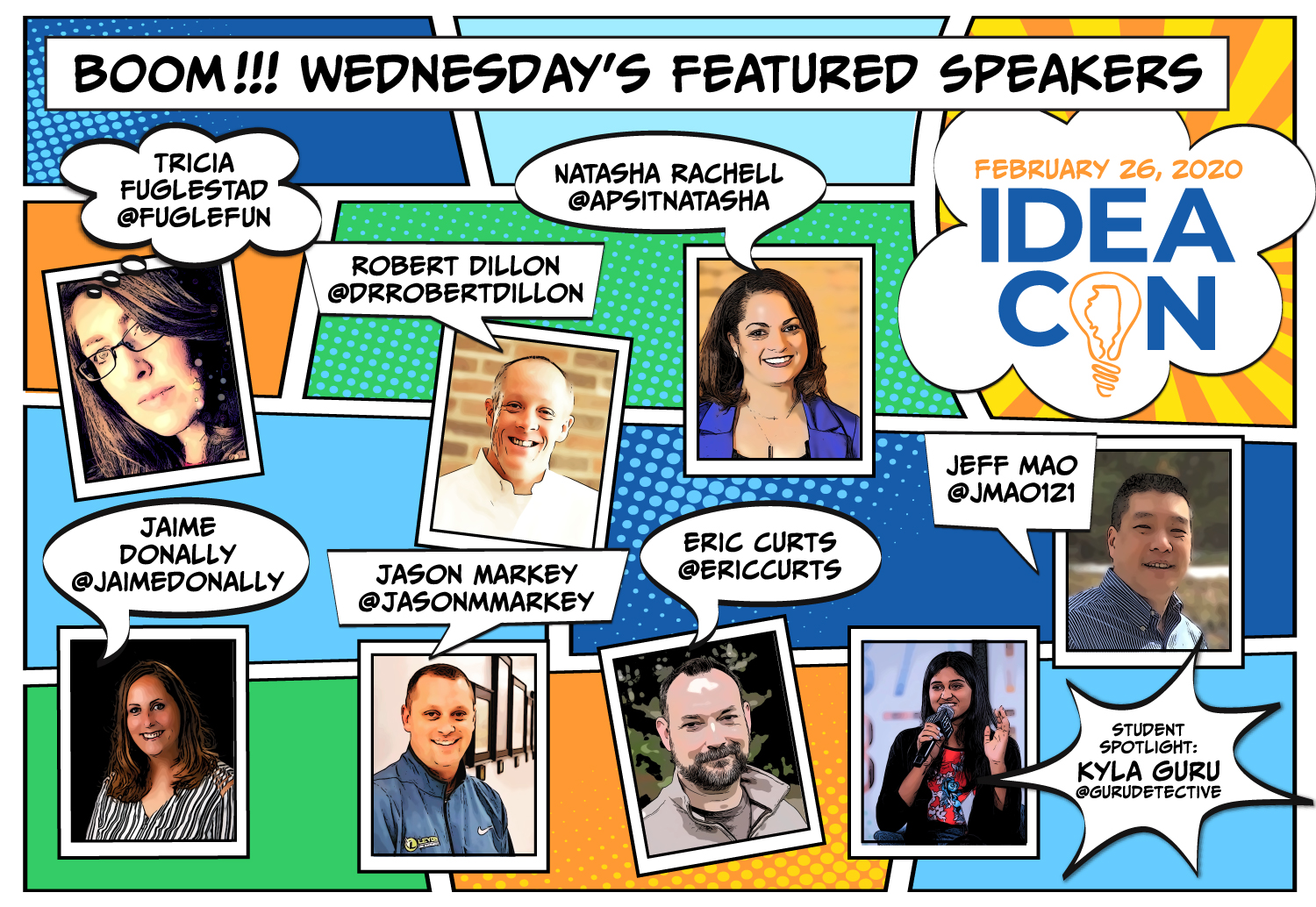 Wednesday Featured Speakers