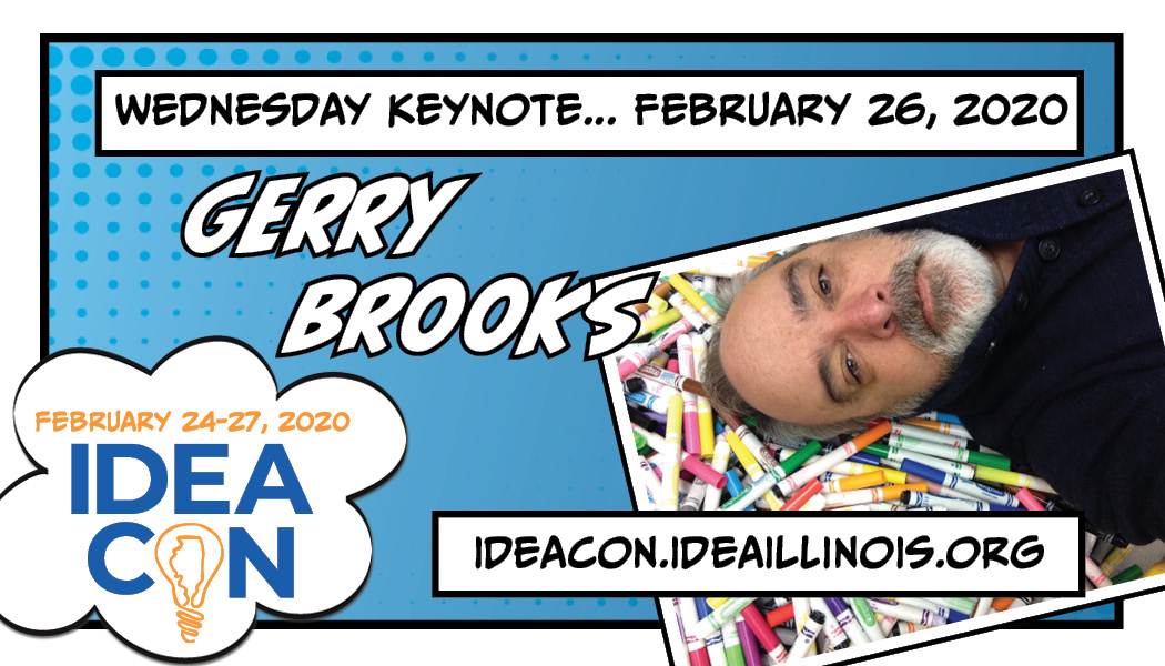 IDEAcon Wednesday Keynote Speaker Gerry Brooks
