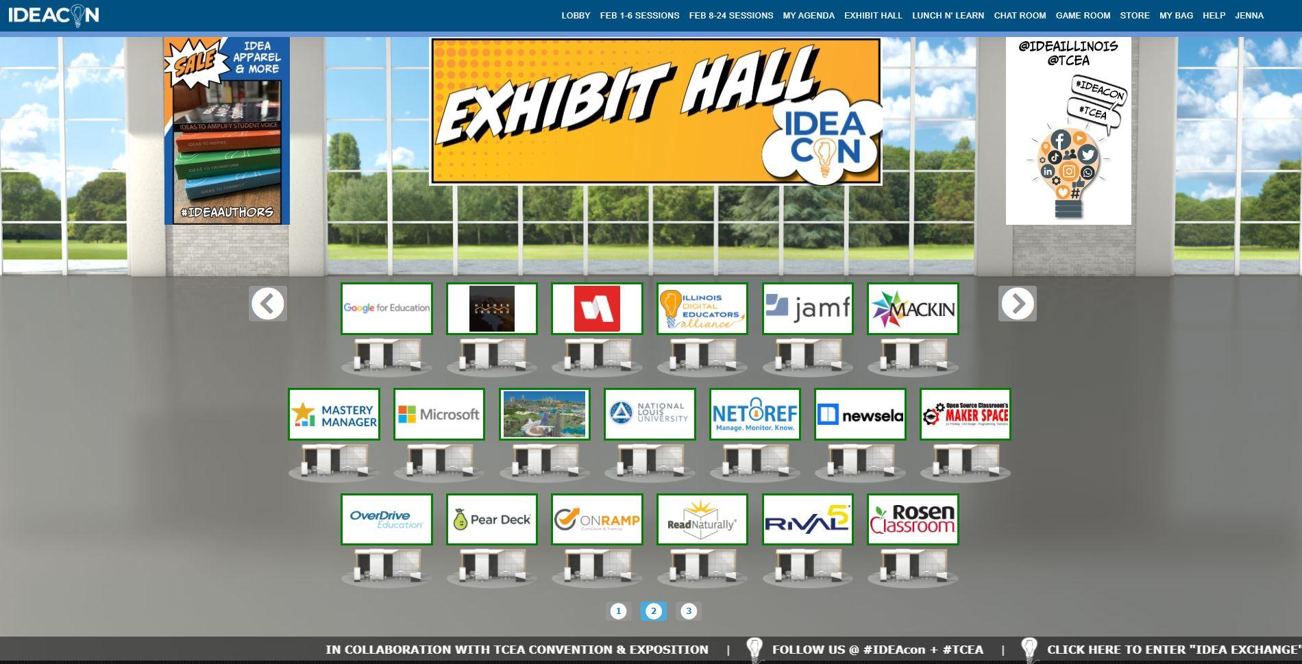IDEAcon Exhibit Hall